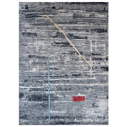 Wool & Silk Contemporary Fusion Rugs