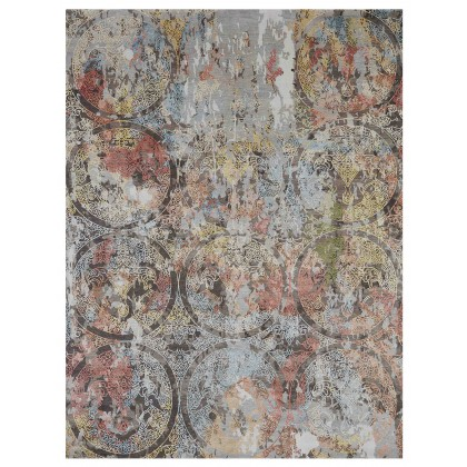 Wool & Silk Transitional Golden Horn Rugs