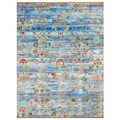 Wool & Silk Silk Road Harem Rugs