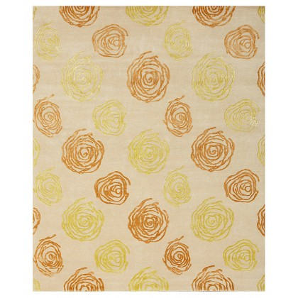 Wool & Silk Contemporary Impressions Rugs