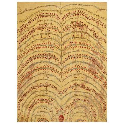 Wool & Silk Afghan Infinity Rugs