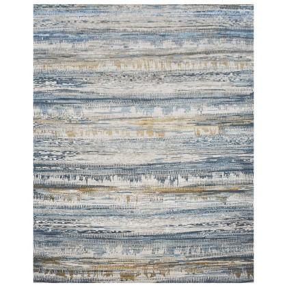 Cyrus Artisan Canvas Art W/Silk J1033 Rugs