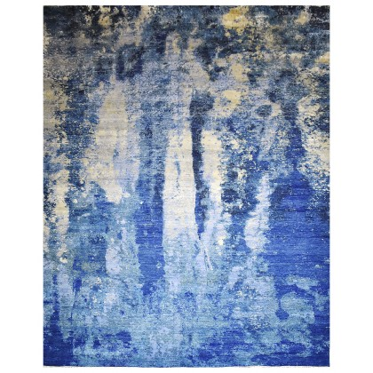 Cyrus Artisan Canvas Art W/Silk J1053 Rugs