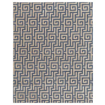 Tamarian Maze 60% Silk Rugs