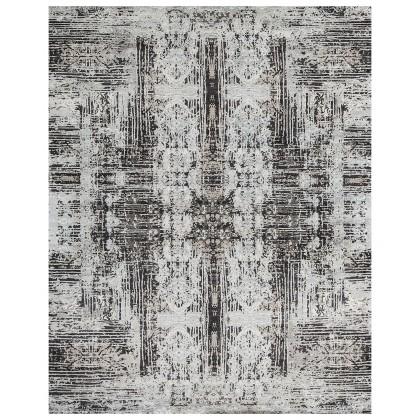 Cyrus Artisan Canvas Art W/Silk MIT24 Rugs