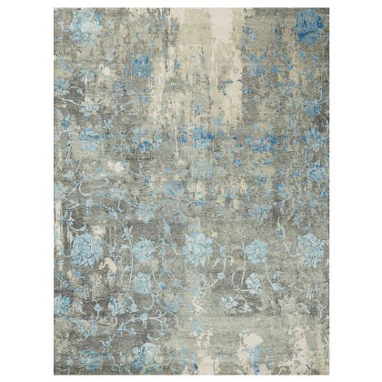 Wool & Silk Transitional Neblina Rugs