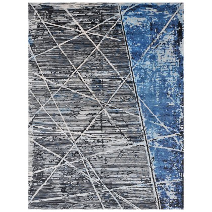 Wool & Silk Contemporary New Wave Rugs