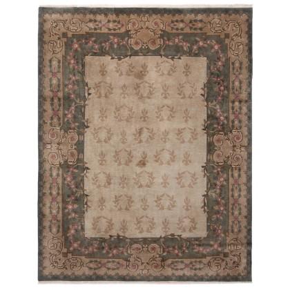 Cyrus Artisan Indo Tibetan Aubusson Rug