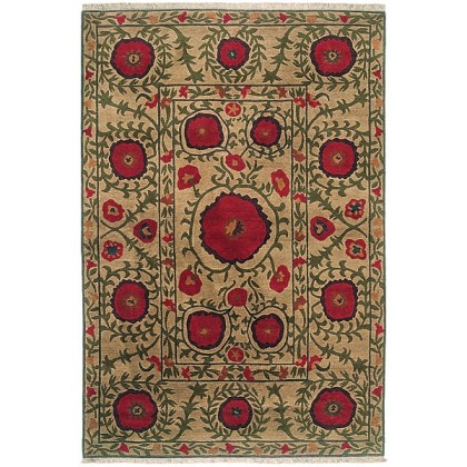 Tibet Rug Company Poppies Area Rugs