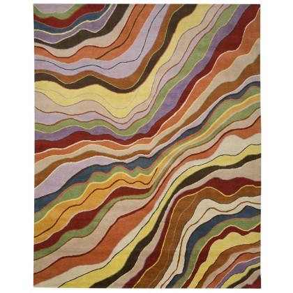 Tamarian Rainbow Wave All Wool Rugs