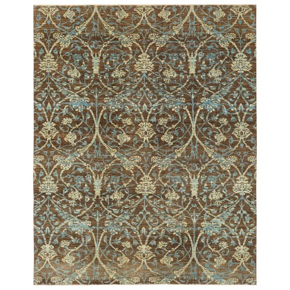 Wool & Silk Afghan Regal Rugs
