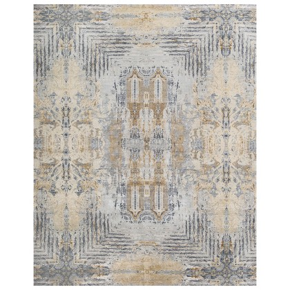 Cyrus Artisan Canvas Art W/Silk S1711 Rugs