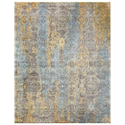 Cyrus Artisan Canvas Art W/Silk S1713 Rugs