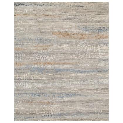 Cyrus Artisan Canvas Art W/Silk S1724 Rugs