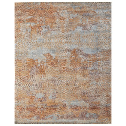 Cyrus Artisan Canvas Art W/Silk S1751 Rugs