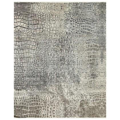 Cyrus Artisan Canvas Art W/Silk S1757 Rugs