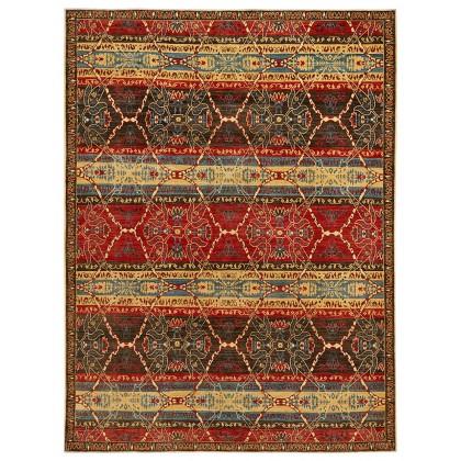 Wool & Silk Afghan Shawl Rugs