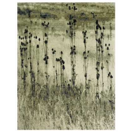 Wool & Silk Contemporary Steppe Fall Rugs