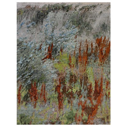 Wool & Silk Contemporary Steppe Spring Rugs
