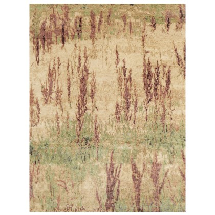 Wool & Silk Contemporary Steppe Summer Rugs