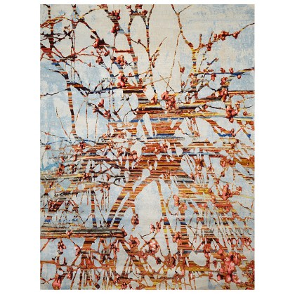 Wool & Silk Contemporary Tree of Life Rugs