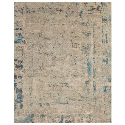 Wool & Silk Contemporary Tribeca Rugs