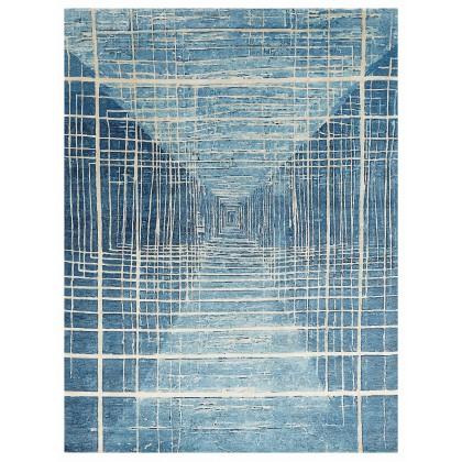 Wool & Silk Contemporary Twilight Zone Rugs