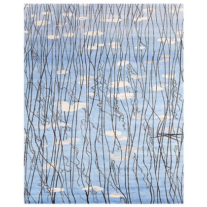 Wool & Silk Contemporary Waterdance-3 Rugs