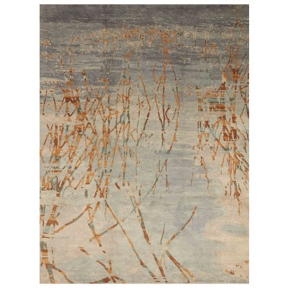 Wool & Silk Contemporary Waterdance-1 Rugs