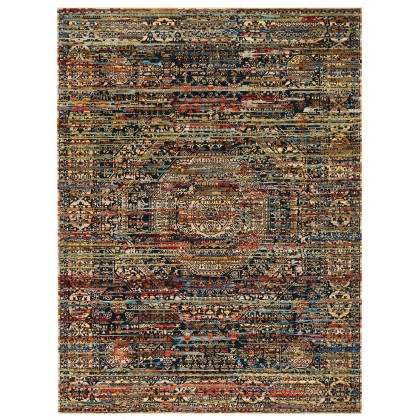 Wool & Silk Afghan Wild Mamluk Rugs