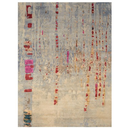 Wool & Silk Contemporary Winter Rugs