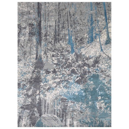 Wool & Silk Contemporary Winter Park Rugs